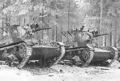 Soviet T-26 light tanks in Finland, 1939