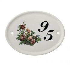 House Name Signs House Name Signs, House Names, House Plaques, House Number Plaque, Ceramic House Numbers, Sign Company, Ceramic Houses, Bespoke Design, Plates On Wall
