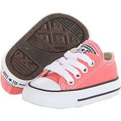 Converse Kids Chuck Taylor® All Star® Ox (Infant/Toddler) Cute Baby Shoes, Baby Girl Shoes, Cute Baby Clothes, Girls Shoes, Best Baby Shoes, Baby Girl Fashion, Toddler Fashion, Toddler Outfits, Toddler Shoes