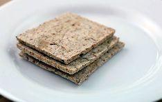 Almond Pulp Crackers