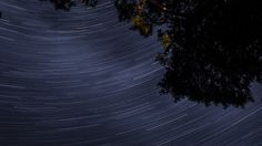 Star trails cross the sky over Southern Ontario. The Camelopardalids meteor shower is expected to light up the night sky Friday.