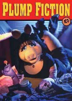 Miss Piggy meets Pulp Fiction. The Muppets, Miss Piggy Muppets, Kermit And Miss Piggy, The Muppet Show, Kermit The Frog, Pulp Fiction, Jim Henson, Julia Roberts, Pop Magazine