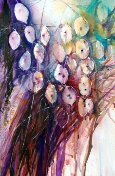 Watercolor art by Jean Haines