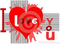 Modern image usable for Saint Valentine greeting card