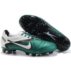 http://www.asneakers4u.com Football boots  Nike CTR360 Maestri II Elite  White/Green/BlacK