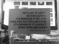 good design needn't be explained.