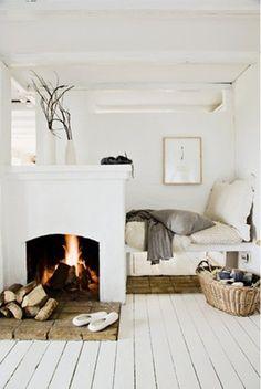 Bright, white & cozy