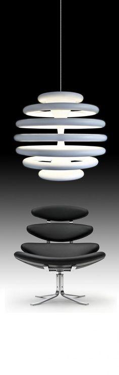 Lampa i krzesło