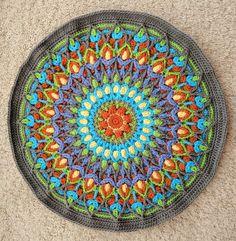 Spanish Mandala by Cindy Douglass