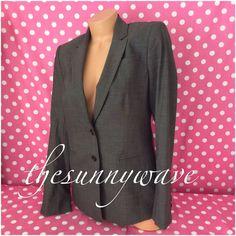 ANN TAYLOR LOFT $218 Blazer Dress Career Suit Jacket Coat Brown Fitted Wool Sz 6 #AnnTaylor #Blazer