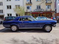 American Dream #Ford #Mustang #GT #Classic #ClassicCars #Blue...