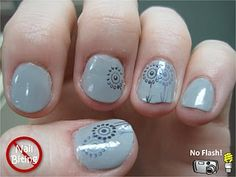 Zoya Dove with Zoya Kelly and Zoya Caitlin stamped on top using M.A.S.H. plate m21