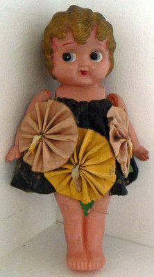 Vintage Celluloid Betty Boop Flapper Doll Made in Japan TT Co | eBay