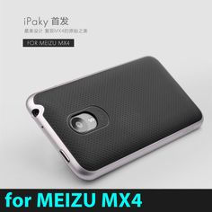 High quality 100% original IPAKY brand Meizu MX4 case silicone protective cover for Meizu mx 4 free shipping all color in stock