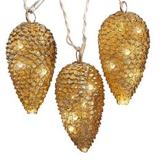 Perfect for indoor or outdoor use, these stunning pine cones are a great way to brighten up a tree this Christmas.