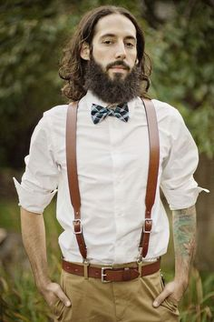 32c07052966 80 Awesome Groom Looks With Suspenders