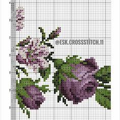 Cross Stitch Rose, Cross Stitch Flowers, Yarn Thread, Plastic Canvas, Needlepoint, Needlework, Diy And Crafts, Tapestry, Crochet