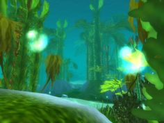Vashj'ir, an underwater zone dominated by naga