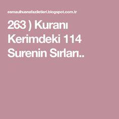 263 ) Kuranı Kerimdeki 114 Surenin Sırları.. Istanbul, Candle, Quotes