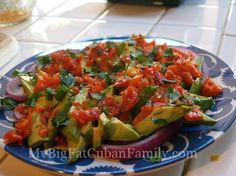 My Big Fat Cuban Family: A Cuban-American Blog: It's Not Easy Being Green - Avocados from Mexico
