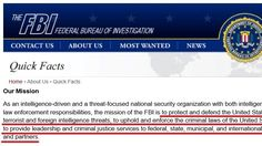Request to investigate corrupt FBI officers who are in violation to FBI mission.