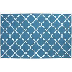 Mohawk® Home Fancy Trellis Rug, Blue