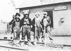 Minnesota Iron Range - Toivola crew