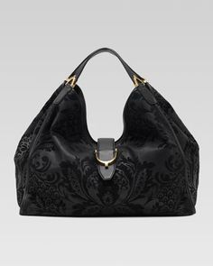 Soft Stirrup Brocade Shoulder Bag, Large by Gucci at Neiman Marcus.  Love this purse!!!!!! want it so bad~