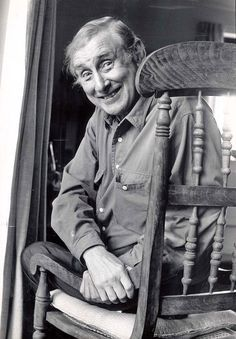 """of the funniest quotes about travel Spike Milligan - one of the world's greatest comic geniuses: """"My father used to be a train driver. He got the sack for overtaking. British Comedy, British Actors, British Humour, Britain Funny, Spike Milligan, Comedy Actors, Comedy Clips, Comedy Movies, Great Jokes"""