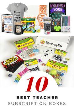 Best Teacher Subscription Boxes (Teacher Gifts)