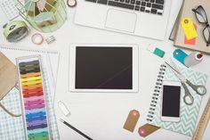 Creative tablet hero header by mactrunk on @creativemarket