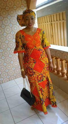 Best African Dresses, African Fashion Ankara, African Print Dresses, African Print Fashion, African Wedding Attire, African Attire, African Wear, Ankara Maxi Dress, Straight Dress