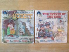 The Hobbit and The Return of the King Vintage Books by HobbitHouse