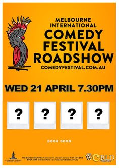 The World Theatre - Charters Towers: Melbourne International Comedy Festival Roadshow 2021.... World Theatre, Comedy Festival, Shake It Off, Satire, Towers, Comedians, Melbourne, Songs, Tours