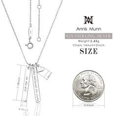 Bonyak Jewelry Sterling Silver Blue Zircon Sideways Accented Cross 16-18 Necklace