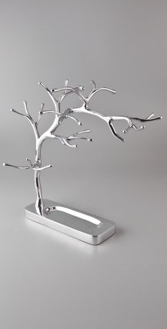 Jewelry tree- made one first and it broke. Now I want a steel one!