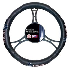 The Northwest Company COL 605 UConn Car Steering Wheel Cover (U Conn), Multi