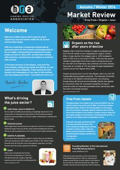Editorial and brochure design, newsletter, food marketing review, dairy products, minimal design,