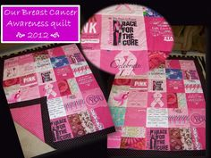 Race for the cure - breast cancer awareness quilt - gotta love pink!