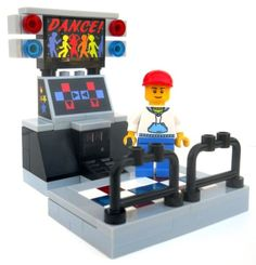 Custom Arcade Dance Game Made from Lego Brand New Collectible with Minifigure DJ 673419111973 | eBay