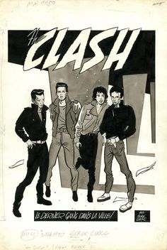 The Clash by Serge Clerc