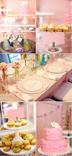 Little Sooti: Pink & Aqua Bridal Shower
