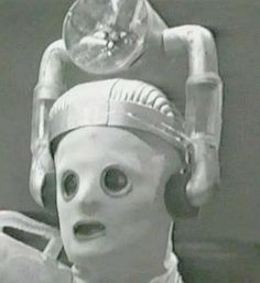 """Cyberman - Doctor Who - """"The Tenth Planet"""" 1966"""