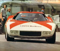 1973 .. Targa Florio .. Entered by Lancia Corse .. Lancia Stratos , driven by Munari / Andruet , finished 2nd o/a .