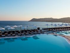 Check out our photo gallery and take a quick journey around the Myconian Imperial Resort and look how your summer vacation in Mykonos will be like. 5 Star Hotels, Best Hotels, Mykonos Luxury Hotels, Imperial Hotel, Spa Center, Leading Hotels, Fine Hotels, Hotel Pool, Paros