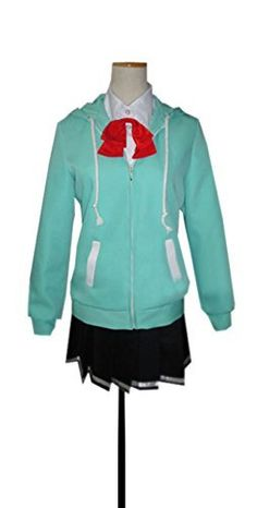 Dreamcosplay Anime Kuroko's Basketball Satsuki Momoi School Uniform Cosplay * Details can be found by clicking on the image.