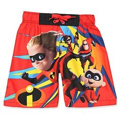f5d5257fa4913 The Incredibles 2 Boys Swim Trunks Swimwear Disney #disney #incredibles  #dash #jackjack #mrincredible #swim #beach #pool #fashion #kids