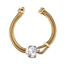PARADISE COLLECTION / Harbor Swarovski crystal loop necklace. Resort 2013