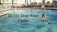 Deep Water Cardio Workout HI YO INTERVAL#1 - WECOACH - YouTube Swimming Pool Exercises, Water Aerobic Exercises, Pool Workout, Lose Fat Workout, Arthritis Exercises, Water Workouts, Group Fitness Classes, Treadmill Workouts, Cardio
