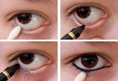 How to Waterline your Eyes #makeup #tutorial #makeuptips